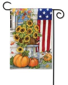 Fall Porch Garden Flag