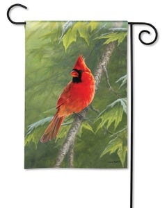 Cardinal Garden Flag