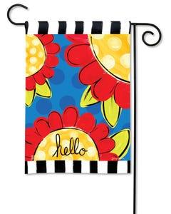Pop of Flowers Garden Flag