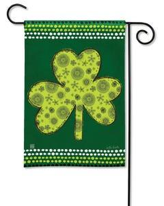 Shamrock Garden Flag