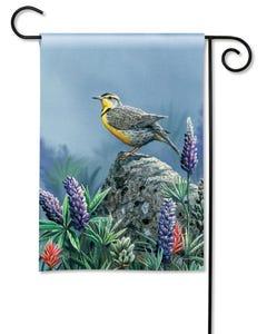 Meadowlark Garden Flag