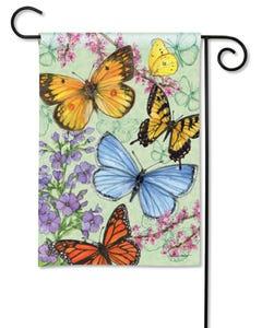 Butterfly Dance Garden Flag