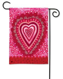 Sweet Hearts Garden Flag
