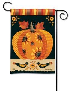 Primitive Harvest Garden Flag