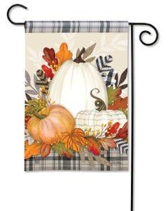 Pumpkin Season Garden Flag