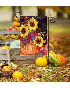 Pumpkin Bouquet Garden Flag