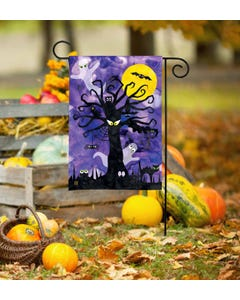 Spooky Tree Garden Flag