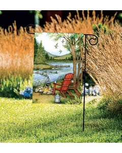Lakeview Garden Flag