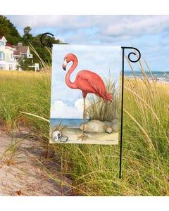 Flamingo Cove Garden Flag