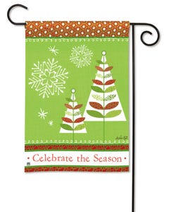CLR Celebrate the Season Garden Flag