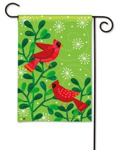 CLR Cardinal Party Garden Flag