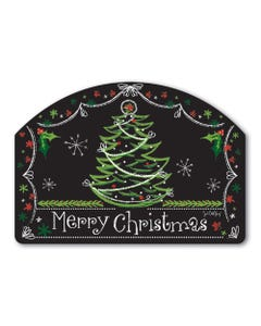 Blackboard Christmas Yard DeSign