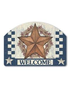 Blue Barn Star Yard DeSign