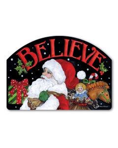 Believe in Santa Yard DeSign