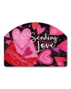 Sending Love Yard DeSign