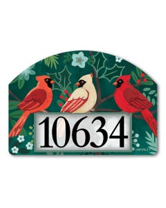 Boho Cardinals Yard DeSign