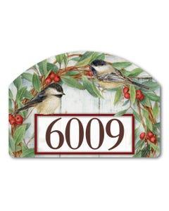 Chickadee Wreath Yard DeSign