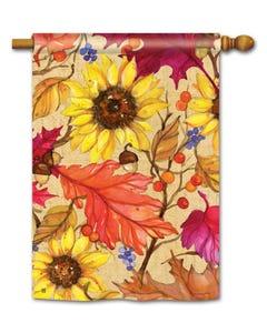 Sunflower Splendor Standard Flag