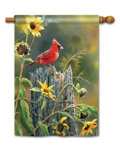 Cardinal View Standard Flag