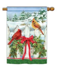 Winter Splendor Standard Flag