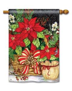 Christmas Beauty Standard Flag