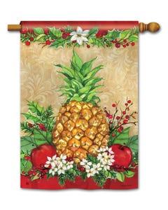 Holiday Pineapple Standard Flag