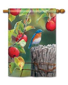 CLR Orchard Bluebird Standard Flag