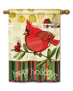 CLR Happy Holidays Cardinal SF