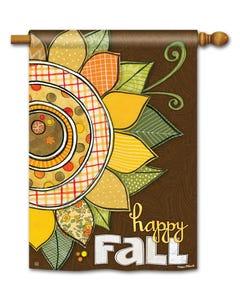 CLR Happy Fall Standard Flag