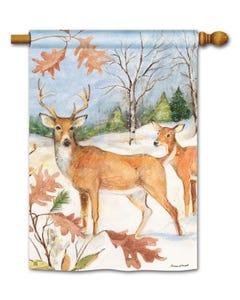 CLR Winter Deer Standard Flag