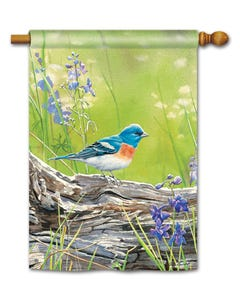 CLR Meadow Bluebird Standard Flag