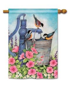 CLR Birds of Spring Standard Flag