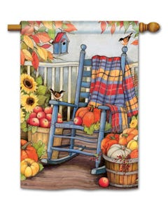 CLR Autumn Porch Standard Flag