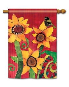 CLR Peace Sunflower Standard Flag
