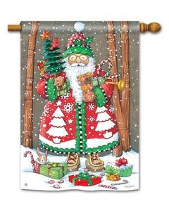 CLR Jolly Santa Standard Flag