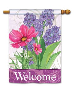 CLR Garden Bouquet DS Standard Flag