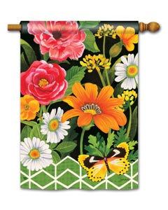 CLR Fancy Floral Standard Flag