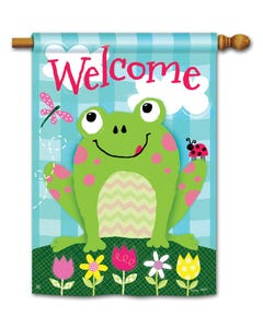 CLR Happy Frog Standard Flag