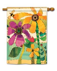 CLR Flower Garden Standard Flag