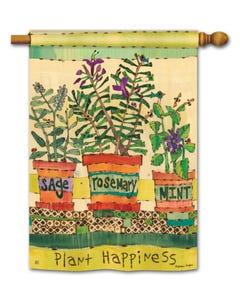 CLR Herb Garden DS Standard Flag