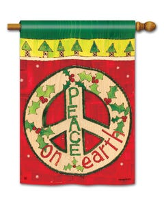 Peace on Earth Standard Flag