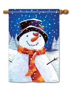 I Love Winter Standard Flag