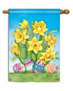Easter Daffodils Standard Flag