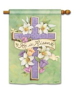 Easter Cross Standard Flag