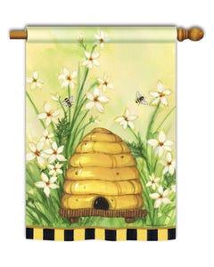 Bee Skep Standard Flag