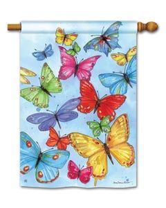 Brilliant Butterflies Standard Flag