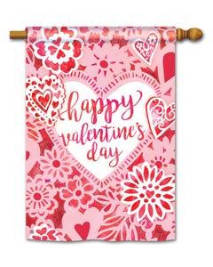 Valentine Lace Standard Flag