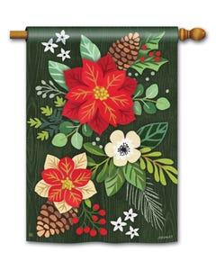 Boho Christmas Standard Flag