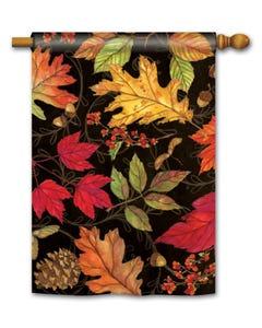 Autumn Symphony Standard Flag