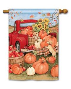 Pumpkin Delivery Standard Flag
